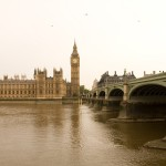 Big Ben and Parliment Across the Thames