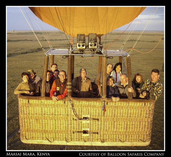 My Group In Hot Air Balloon
