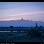 Dawn On Mt. Kenya