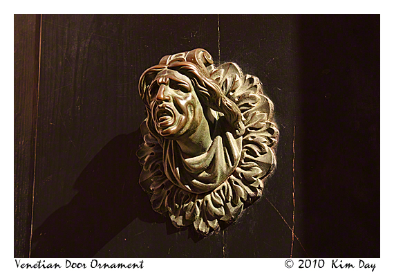 venetian door ornament
